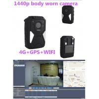 Buy cheap Recoda IP67 1440p Hd 30 Fps Hidden 4G Body Camera 10M Night Vision product