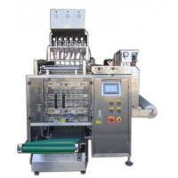 Buy cheap 8 Lanes Automatic Liquid Packing Machine For  Water / Detergent , 3 / 4 Sides Seal Type product