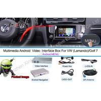 Quality Android Car Multimedia Navigation System For NMC Lamando Golf 7 for sale