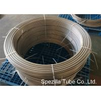 Quality ASTM A789 UNS S31803 Duplex Stainless Steel Pipe ,  Grade 2205 Coiled Stainless Steel Tubing for sale
