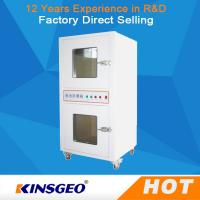 Buy cheap SUS#201 Stainless Steel Battery Test Chamber , Battery Explosion Proof Test Chamber from wholesalers