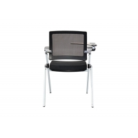 China Commercial Office Training Chairs with W Folding Side Tables on sale