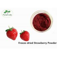 Quality Natural Freeze Dried Strawberry Fruit Powder Natural Flavour Rich Nutrition for sale
