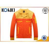 China Personalized Custom Jackets For Engineer , Safety Mens Uniform Jackets on sale