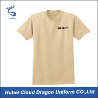 Quality 100% Cotton Jersey Soft Law Enforcement T Shirts , Police T Shirts For Men for sale