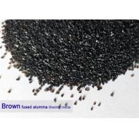 Quality Brown 120 Grit Aluminium Oxide Blasting Media 12# - 220# Al2O3 95% Purity High Hardness for sale