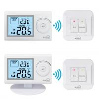 Quality PC+ABS Wireless Heater Thermostat / Remote Controlled Thermostat For Boiler for sale