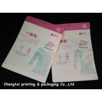 Quality OEM Custom Clothing Packaging Bags / Garment Plastic Pouches Eco - Friendly for sale