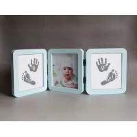 China Personalised Wooden Photo Frames , Luxury Triple Picture Frame Logo Printed on sale