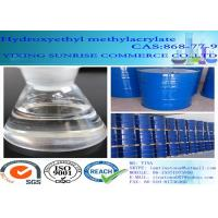 Buy cheap Hydroxyethyl Methylacrylate Colorless Transparent Liquid CAS 868-77-9 C6H10O3 product