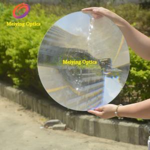 PMMA material round shape diameter 500mm spot fresnel lens ,acrylic fresnel lens for solar concentrator