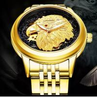 Quality Luxury Hot Tevise Big Eagle custom logo automatic men stainless steel watch 9006D for sale
