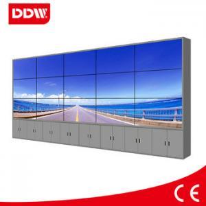 Narrow bezel lcd video wall display LED 5.3mm HDMI DVI VGA AV YPBPR IP RS232 1920*1080