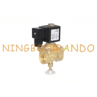 China 1/2'' 3/4'' 1'' Manually Adjustable Bass Solenoid Valve For Natural Coal Gas 12VDC 24VDC 230VAC on sale