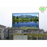 Quality Commercial Full Color P10mm Led Advertising Screens / Outdoor Led Video Display for sale