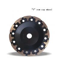 """Quality JWT Diamond Cup Wheel with """"T"""" Grinding Cup Wheel for sale"""