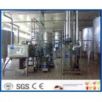 Buy cheap Milk And Milk Products Processing Dairy Plant Machinery , Milk Dairy Equipments from wholesalers