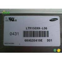 Quality 15.0 Inch LTM150XH - L06 Samsung LCD Panel 1024*768 without touch for sale