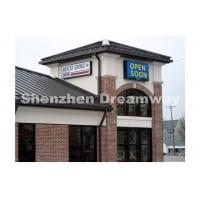 China P10 Outdoor Digital Led Signs 1440mm x 480 mm Screen Steel Cabinet on sale