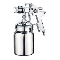 Quality High Volume Low Pressure Spray Paint Gun 1000ml Aluminum Suction Cup S.S Air Cup And Nozzle for sale