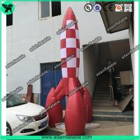 Quality 3m Advertising Inflatable Rocket Model,Event Rocket Customized for sale