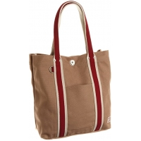 Buy Khaki Cotton Recyclable 35*37*11CM 21oz Canvas Tote Bag at wholesale prices