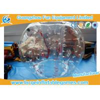 Buy cheap Red Inflatable Bubble Soccer with High Tensile Strength Standard Size for adults and kids product