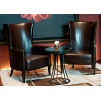 Buy cheap Leisure Leather Chair Modern Lobby Furniture For 5 Star Hotel Public Area product