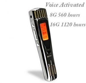 Buy cheap digital recorder voice recorder of digital grabadora audio 8gb usb product