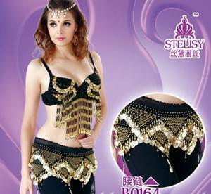 China tribal belly dance belt,belly dance coin belt on sale