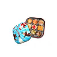Buy cheap Colorful Candy Tin Containers With Small Dimension And Xmas Style , 0.23mm Thickness product