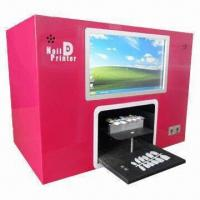 Quality Flower Printer with Built-in 10.2 Inches PC Touch Screen, 12 Pieces Nail Tip One Time Printing for sale