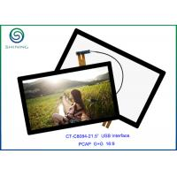 """Quality 16:9 COB Type ILITEK Controller, 21.5"""" USB Projected Capacitive Touch Screen For Industrial Touch Monitors for sale"""