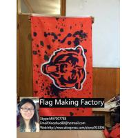 Quality Free shipping NFL 3'x5' Chicago Bears flag, 90x150cm Chicago Bears rugby football banners for sale