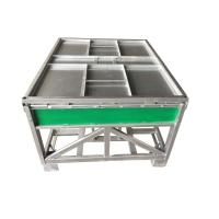 Quality Galvanised Steel IBC Containers 1000L Capacity 1.0mm Steel Panel Thickness for sale