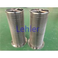 Quality Vertical Wire Wrapped Screen With Smooth Wire Surface For Self - Cleaning Filter for sale