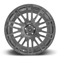 China Gun Metal 19inch Customized 1-PC Forged Wheels Made of  6061-T6 Forged Aluminum Alloy For Bentley on sale
