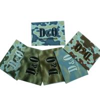 China Customized Personalized Embossed Leather Patches, Colorful Jeans Label on sale