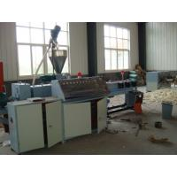 Quality Corrugated Pipe Machine Single Wall Pvc Flexible Pipe Extrusion Line for sale
