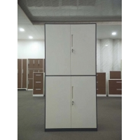 Quality Steel Two Doors Office Filing Cabinet Furniture Knocked Down Structure 400D for sale