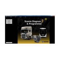 Quality Automobile Obd2 Bluetooth Scanner Software For SCANIA VCI2 / VCI3 Without USB Dongle for sale