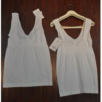 China Ladies' seamless spandex tank tops on sale