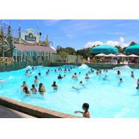 Quality Commercial Amusement Water Wave Pool / Waves Swimming Pool 600 - 700 Square Meter for sale