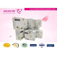 Quality Disposable Anion Sanitary Napkin , Cotton & Dry Web Surface Anion Feminine Pads for sale