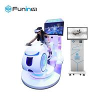 China 700KW  new technology wholesales factory price vr 9d virtual reality racing moto game with 360 rotation 9d VR cinema on sale