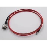 Buy cheap Test Application RF Cable Assembly N Connecotr To SMA Semi Flex Cable product