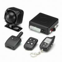 Quality Two-way Car Alarm System with 1pc 5-button LCD Multifunction Remote Control for sale