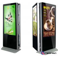 Quality Double Sides Sunlight Readable Floor Standing Digital Signage Display 2000 Nits Brightness for sale