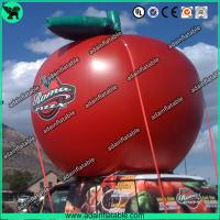 Quality Event Fashionable Red Custom Inflatable Apple , Large Inflatable Advertising Products for sale