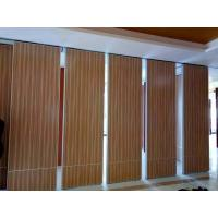 Buy cheap Interior Wood Folding Doors Office Acoustic Room Dividers ,  Sound Proof Movable Partition Walls from wholesalers